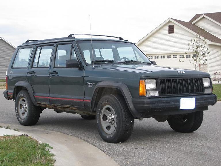 1994 jeep cherokee 4x4 sport. Black Bedroom Furniture Sets. Home Design Ideas