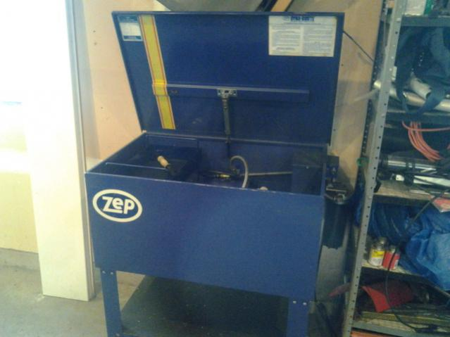 Zep Parts Washer Industrial 400 00