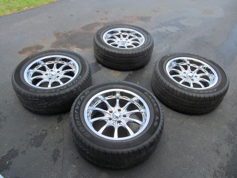 """Used F150 For Sale >> 20"""" Boss wheels/tires for F150, Navigator or Expedition"""