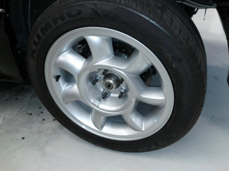super mint 93 cobra wheels 5 lug with kumho tires