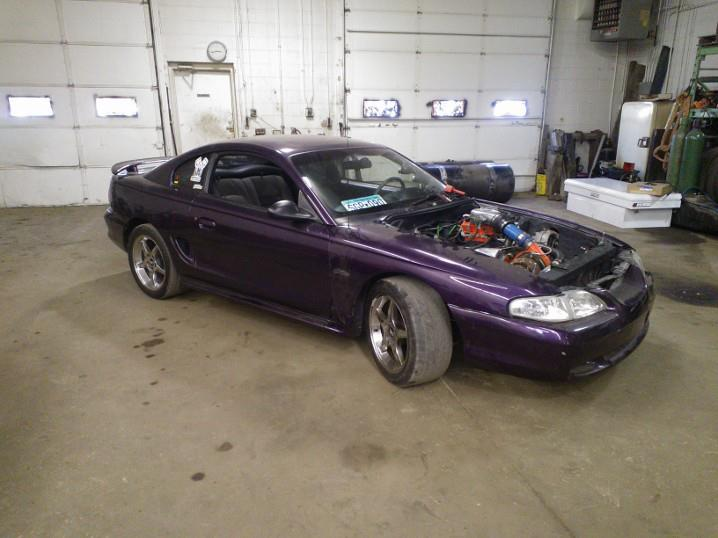 96 gt mustang shell for sale 750 or b o. Black Bedroom Furniture Sets. Home Design Ideas