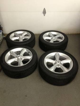 "Mustang Gt Premium >> 2012 Mustang GT Premium 18"" wheels & tires"