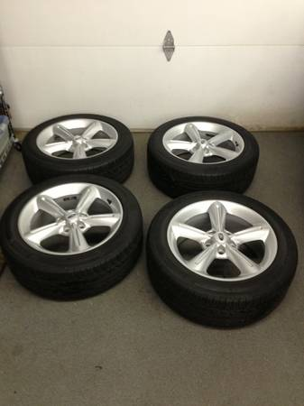 2012 Mustang GT Premium 18 Wheels Amp Tires
