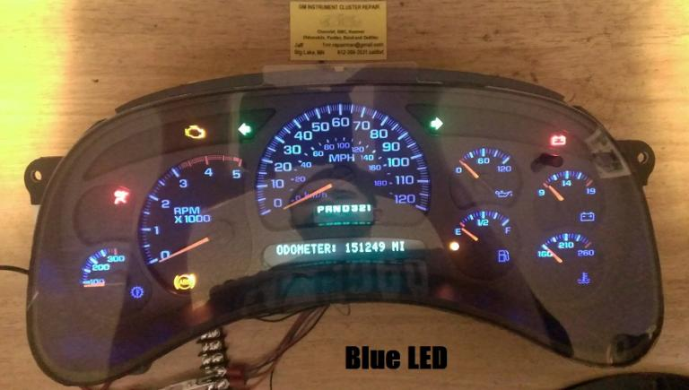 Mustang 05 07 Gm Instrument Cluster And Abs Module Repair