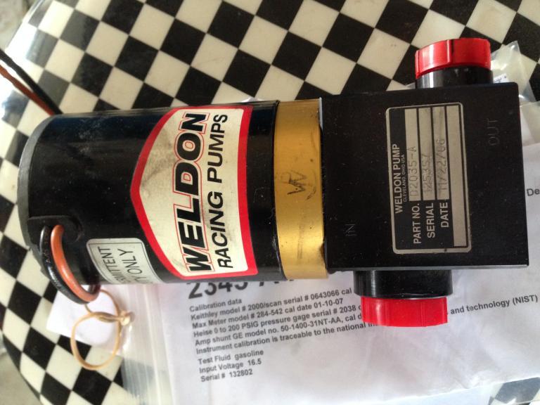weldon 2345, weldon 2035, and paxton fuel f/s