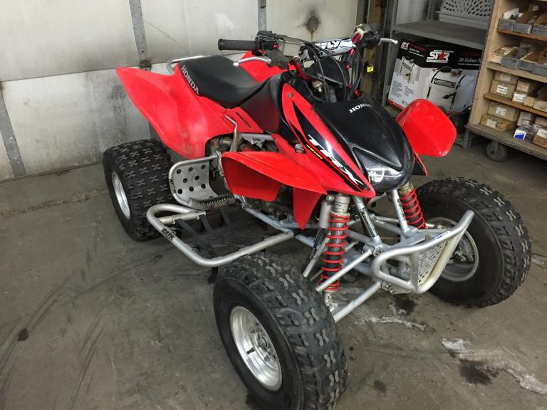 2004 honda 450r trx450r quad atv really nice machine 2 500 bo. Black Bedroom Furniture Sets. Home Design Ideas