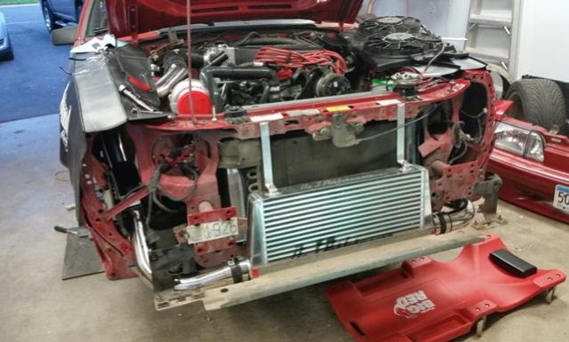 Fox Body On3 Turbo Kit Install