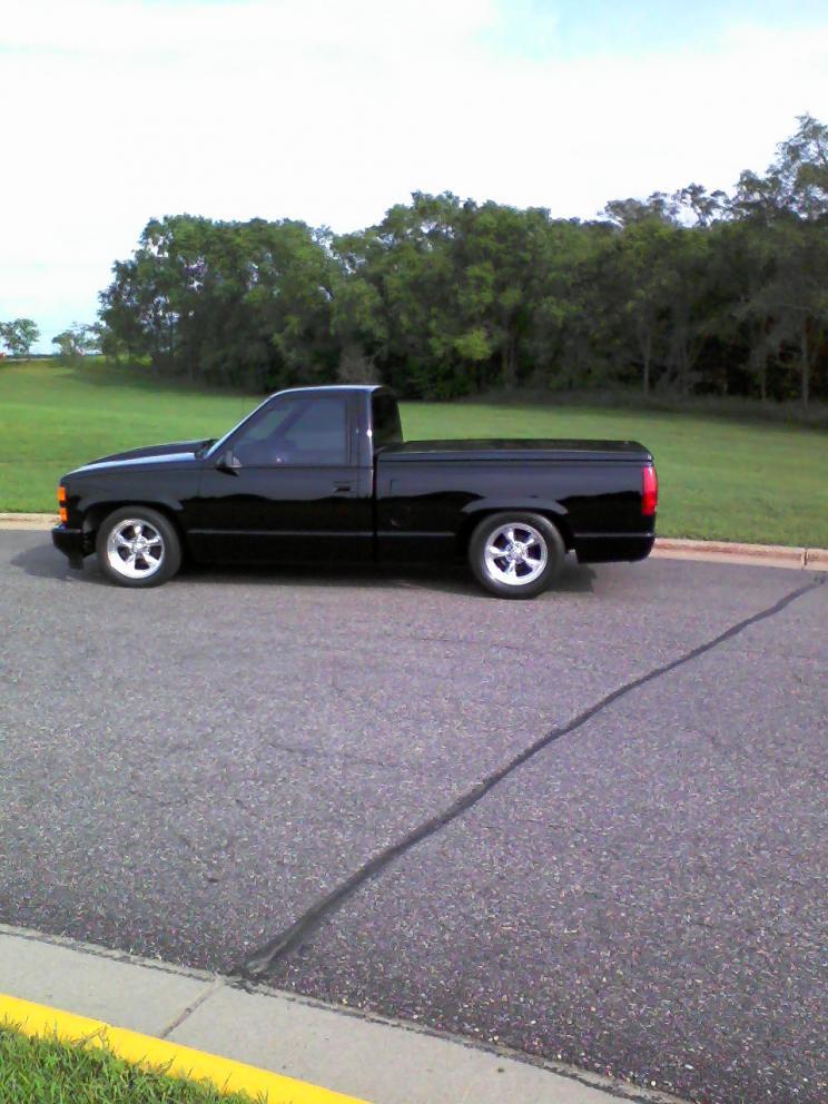 1990 Silverado Short Box Lowered 2 Sets Of Wheels Very