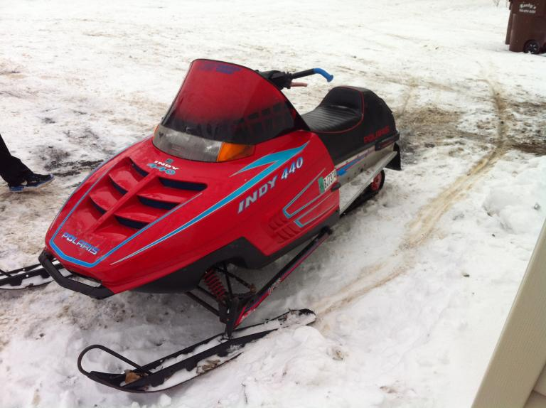 1994 Polaris Indy 440 Liquid Cooled Kids Snowmobile 750 00